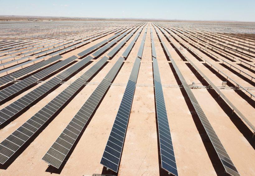 Scatec Solar's Upington solar project