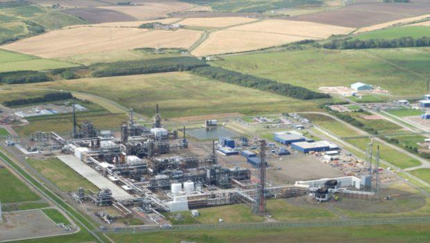 The St Fergus Gas Terminal.