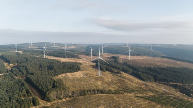 Vattenfall to build it's largest UK onshore wind farm. South Kyle.