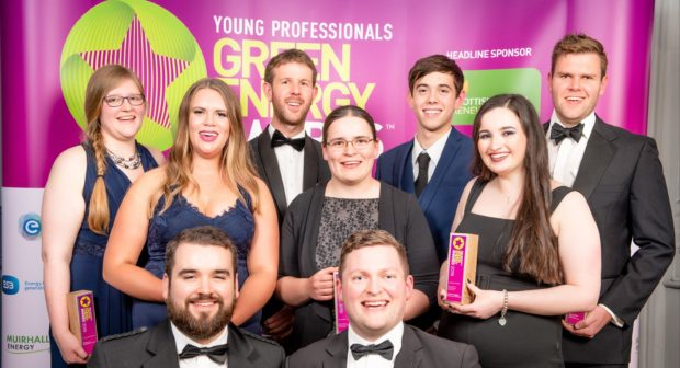 Young Green Energy Awards winners 2019.