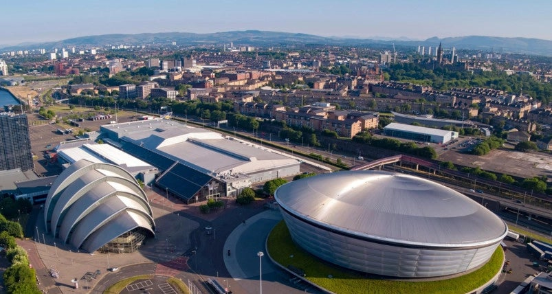 The Scottish Events Campus in Glasgow is due to host COP26 this year.