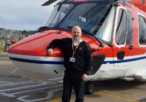 Steve Jones, deputy chief pilot at CHC.