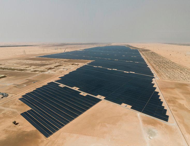 Abu Dhabi's Noor solar project