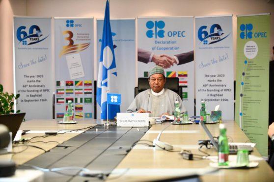 Nigeria's Mohammed Barkindo is OPEC's secretary general . Pic: OPEC