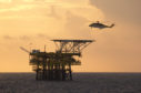 North Sea production cuts