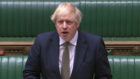 Prime Minister Boris Johnson speaks during Prime Minister's Questions in the House of Commons, London. PA Photo. Picture date: Wednesday May 6, 2020. See PA story POLITICS PMQs. Photo credit should read: House of Commons/PA Wire