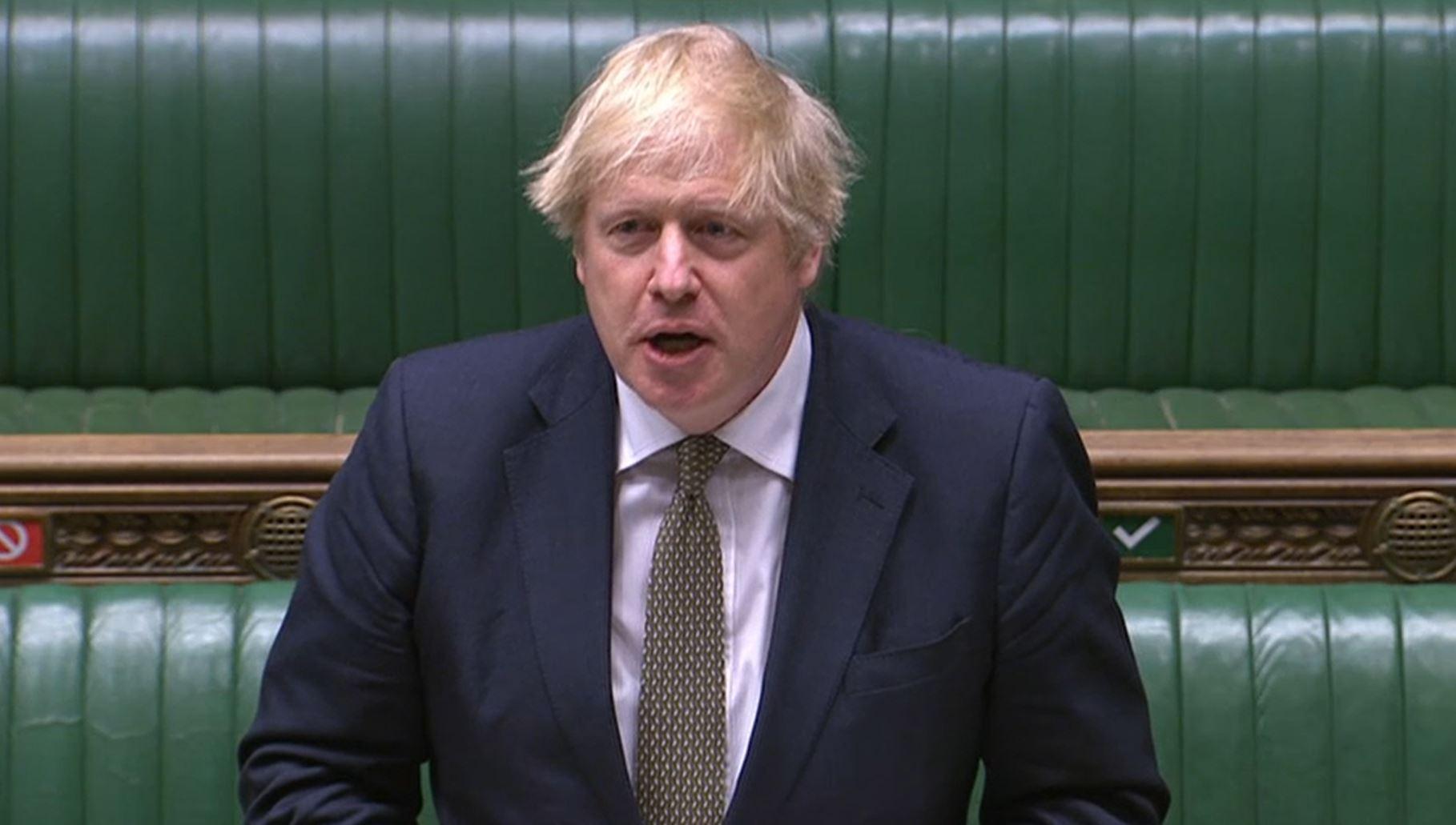 Prime Minister Boris Johnson. PA Wire