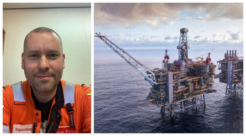 David Fox, former HSE Lead for construction projects including Clair Ridge (pictured) and Aasta Hansteen, has created Offshore Titans