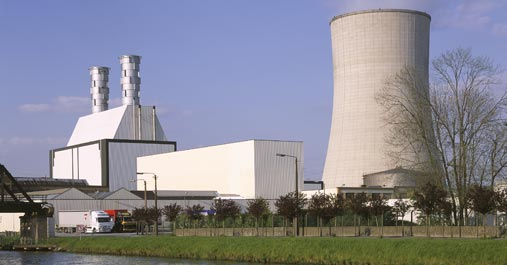 The Vilvoorde site and gas-fired power plant