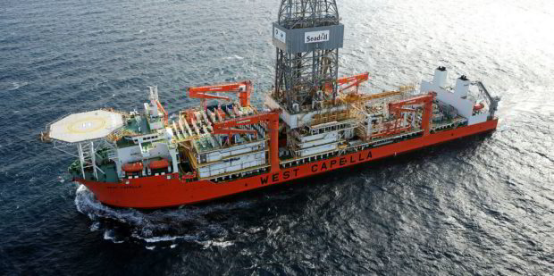 Seadrill's West Capella drillship