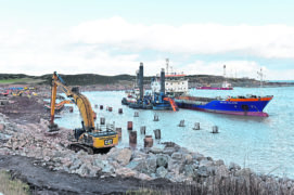 Aberdeen harbour tenders for £15m contract amid speculation about Dragados exit