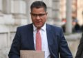 Development Secretary Alok Sharma. Business Secretary Alok Sharma. Stefan Rousseau/PA Wire
