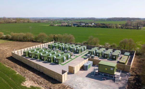 Zenobe Energy's Claredown site.