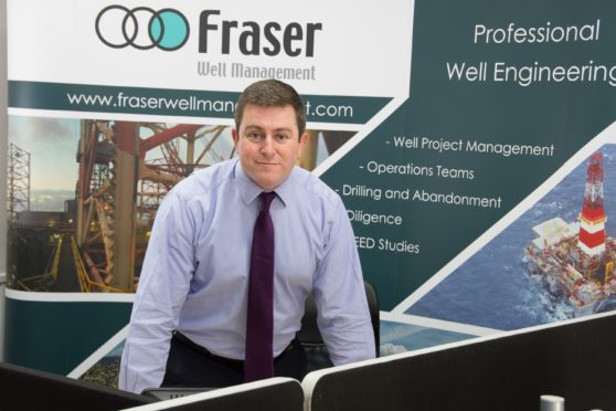 FWM's Well Engineering Manager, Donald MacArthur, who heads the Aberdeen office