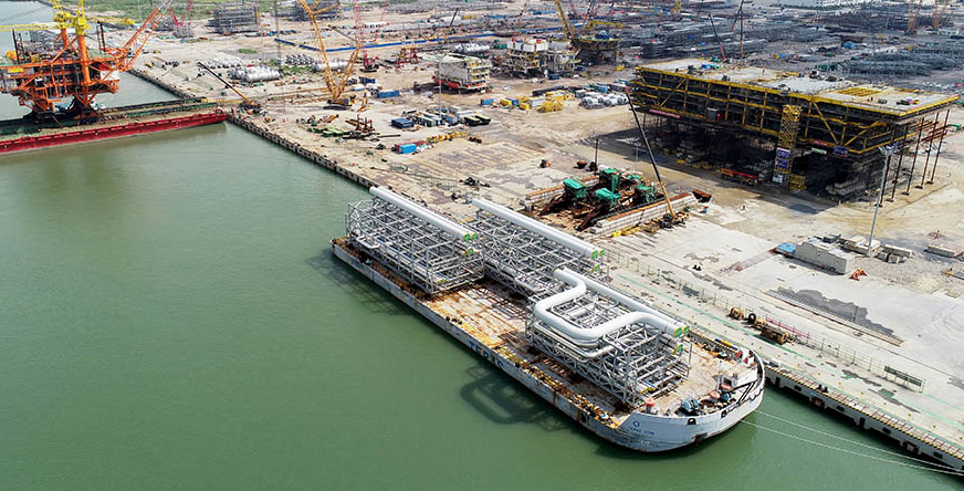 Zhuhai Fabrication Yard, owned by Cooec-Fluor Heavy Industries. Image: Fluor Corporation.