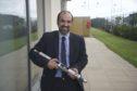 innovative thinking: Aberdeen-based businessman Yerasimos Angelis, whose company GA R&D has developed the U-Line roller