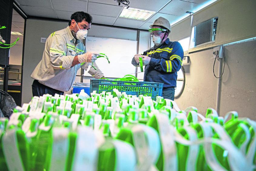 Visors manufacturing Argentina