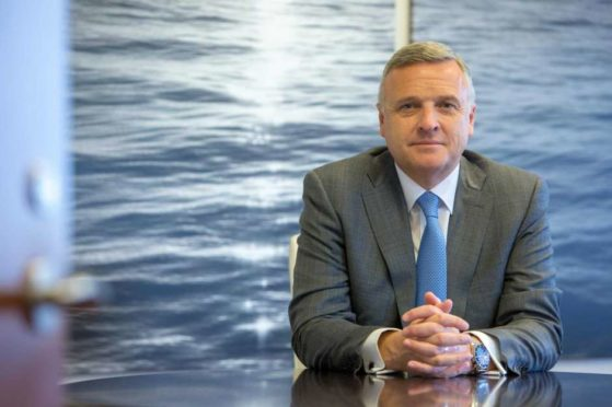 McDermott International CEO David Dickson. The Houston oil field service company shed $4.6 billion debt after exiting bankruptcy Monday afternoon.