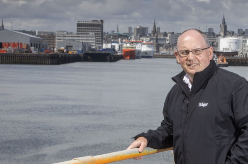 David Donaldson is to head up Drager's Marine and Offshore UK office, based in Aberdeen.