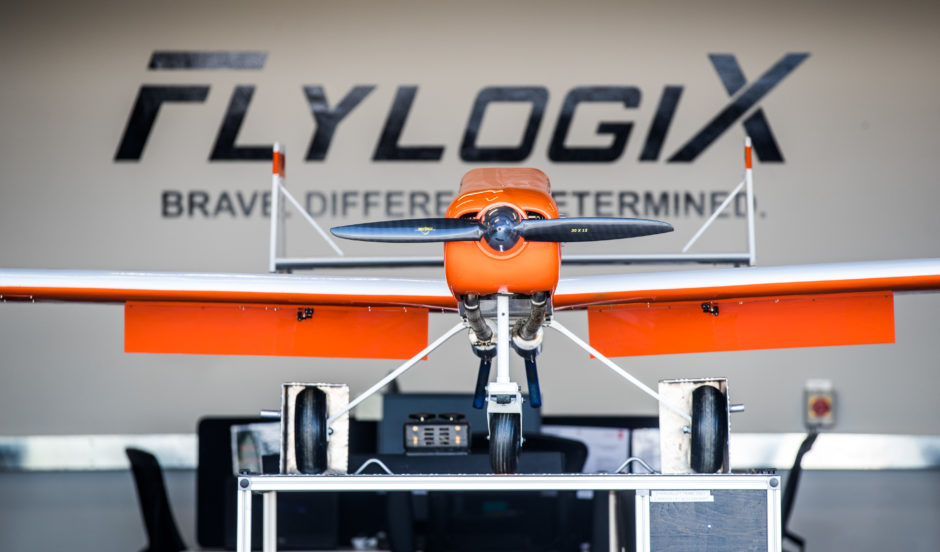 FlyLogix used an unmanned drone to fly out from Shetland to BP's Clair platform