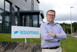 Kevin Parker, director of OceanTools.  Picture by Scott Baxter    21/07/2020