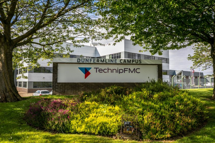 TechnipFMC's base at Donibristle Industrial Estate