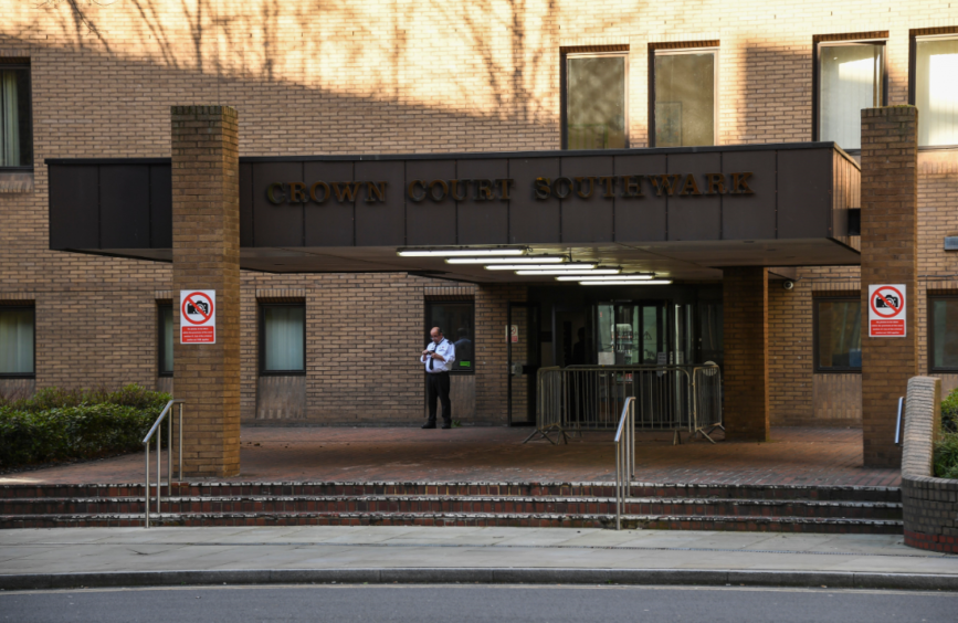 Southwark Crown Court. Picture courtesy of Shutterstock.