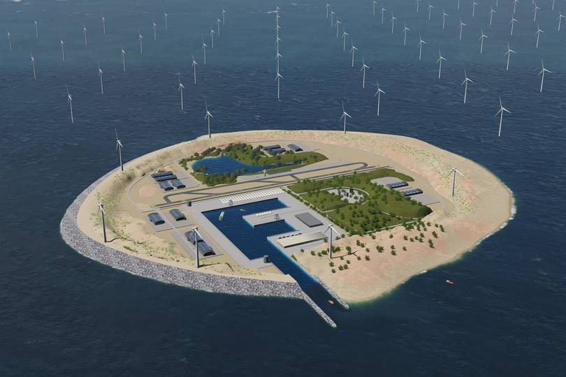 North Sea Wind Power Hub