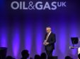 OGUK Breakfast at AECC in Aberdeen. Jim House, Chief Executive Neptune Energy. Picture by COLIN RENNIE    March 20, 2018.