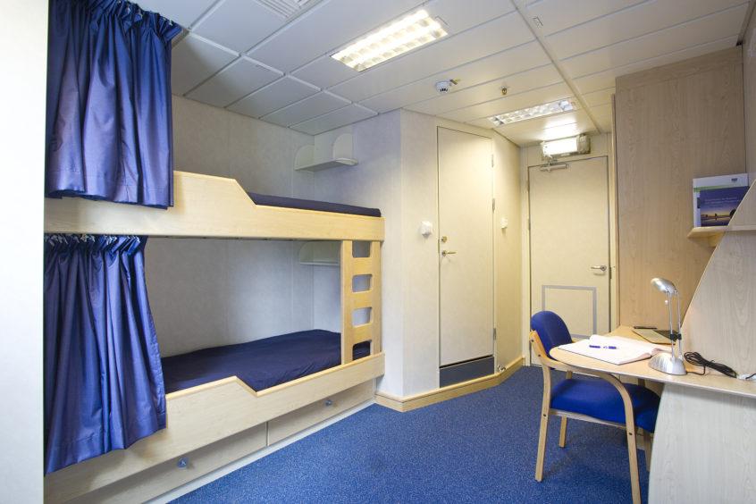 A Hoover Ferguson accommodation module