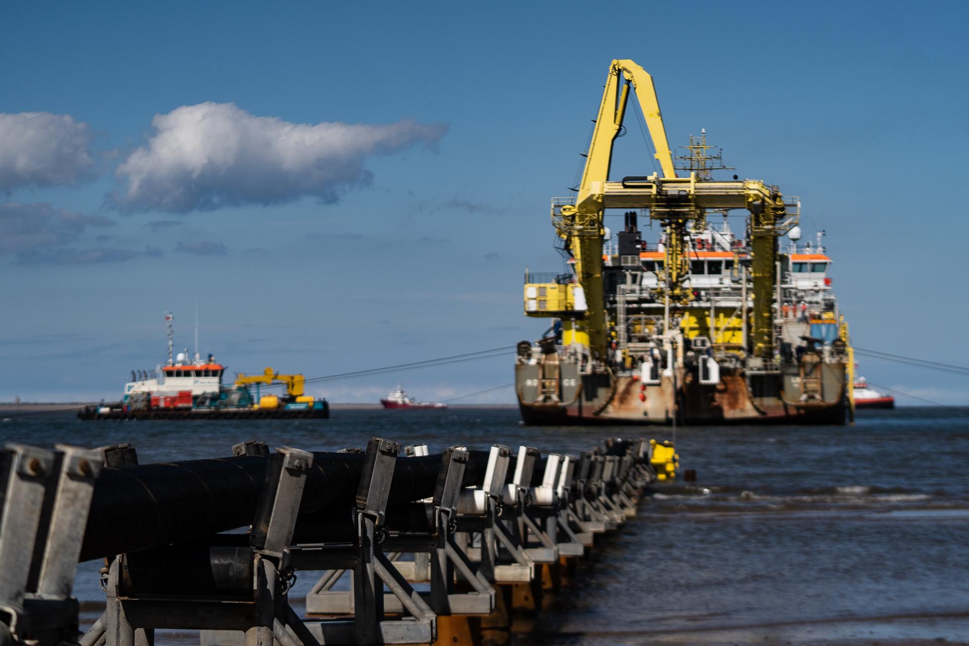 Boskalis' cable laying vessel Ndurance