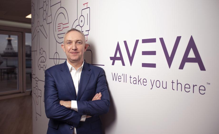 Craig Hayman, chief executive of AVEVA