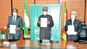 NNPC has signed an agreement with CNOOC and Sapetro on the OML 130 PSC.