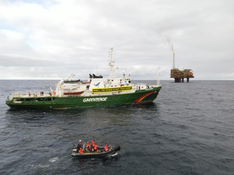 ETIDEX Greenpeace North Sea
