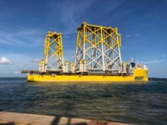 Infrastructure for Hornsea Two offshore wind farm departs Indonesia