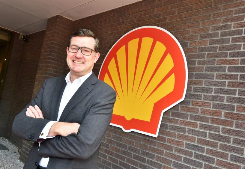 Steve Phimister, vp upstream and director of Shell UK