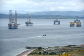 Grim year predicted for oil and gas at Cromarty Firth