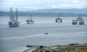 oil cromarty firth