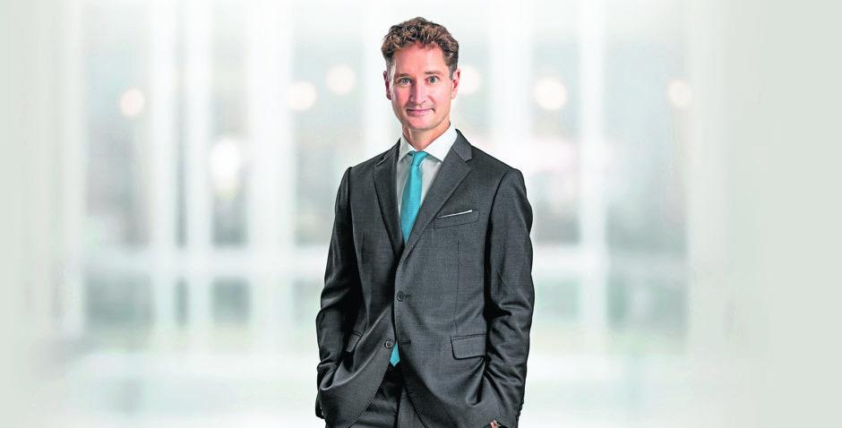 Nick Scott, managing partner Brodies