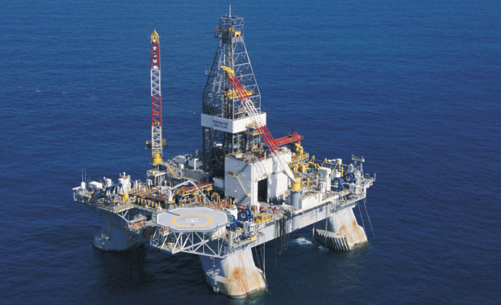 On the move: Transocean's Deepwater Nautilus