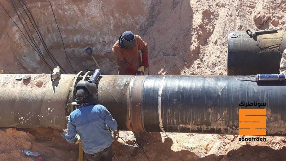 Sonatrach has handed out contracts to six local companies for the construction of new gas pipelines.