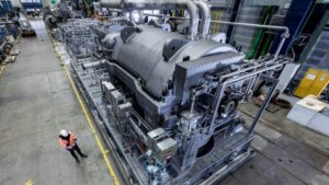 Siemens wins NLNG compression train work