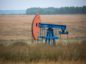 """An oil pumping jack, also known as """"nodding donkey"""", operates in an oilfield near Almetyevsk, Russia, on Sunday, Aug. 16, 2020. Oil fell below $42 a barrel in New York at the start of a week that will see OPEC+ gather to assess its supply deal as countries struggle to contain the virus that's hurt economies and fuel demand globally."""