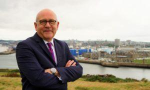 Stuart Broadley. chief executive of the EIC