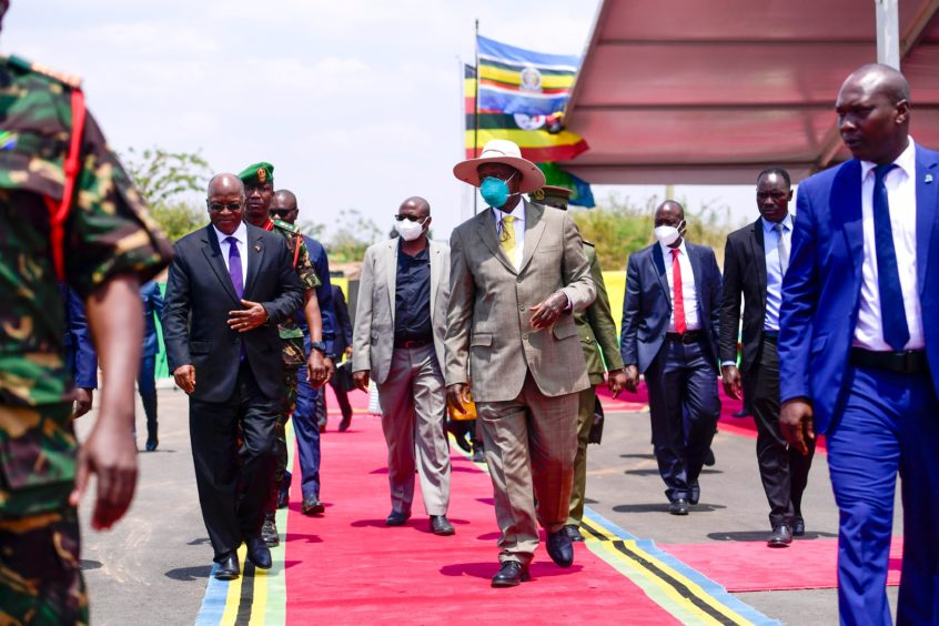 Uganda has struck an agreement with Total and made progress in talks with Tanzania, its partner in the East African Crude Oil Pipeline (EACOP).