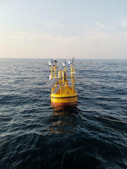 First floating LIDAR in Korea