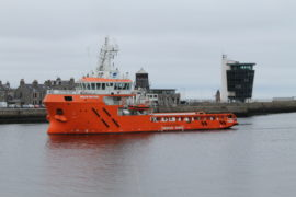Malin Sentinel arrives in Aberdeen after 11,500-mile voyage from China