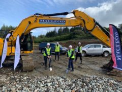 Supply chain firm Renewable Parts breaks ground on new centre