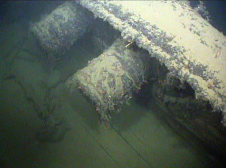 The Karlsruhe was sank off Norway in 1940 after being attacked by HMS Truant.
