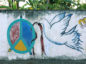 A mural on a wall in Dili, East Timor. Photo by Damon Evans